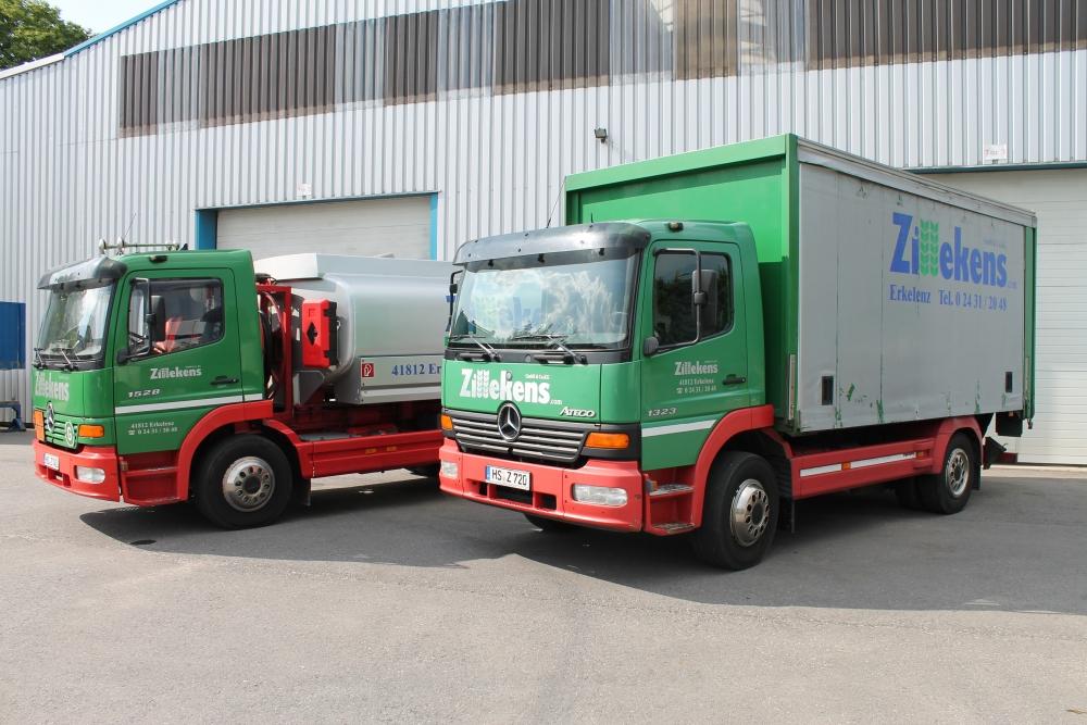 Tankwagen & kleiner LKW 2014