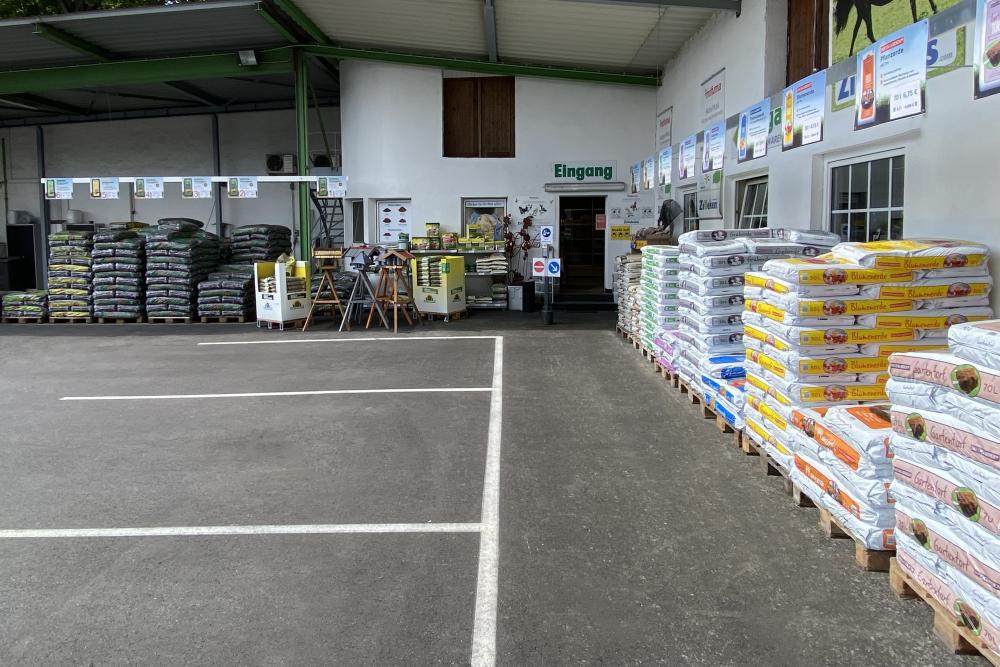 Grünes Warenhaus